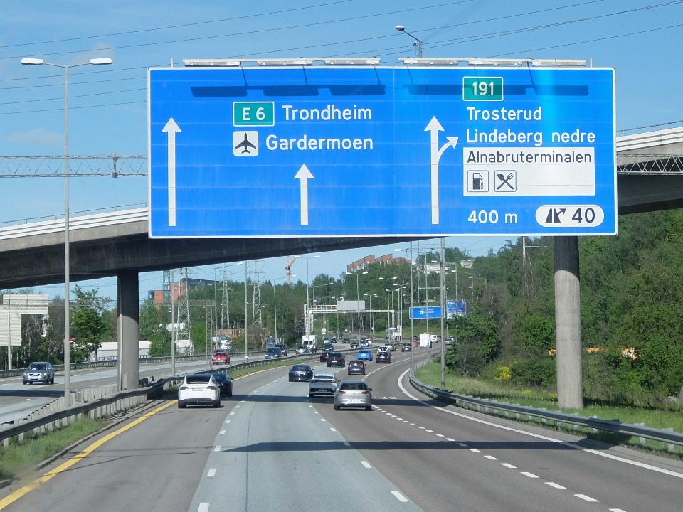 北欧4か国を駆け巡る旅(その35) オスロ空港からスウェーデンの ...